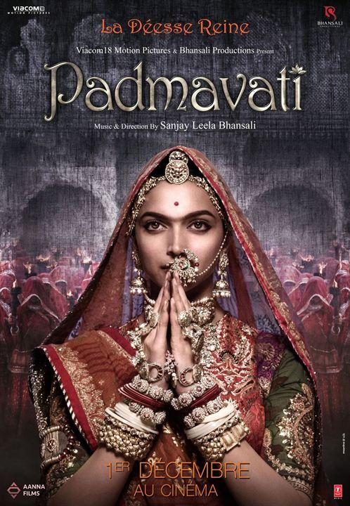 Padmaavat - Ein Königreich für die Liebe : Kinoposter