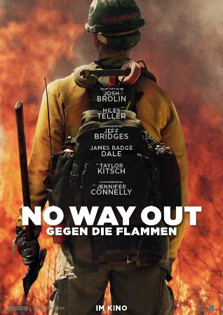 No Way Out - Gegen die Flammen : Kinoposter