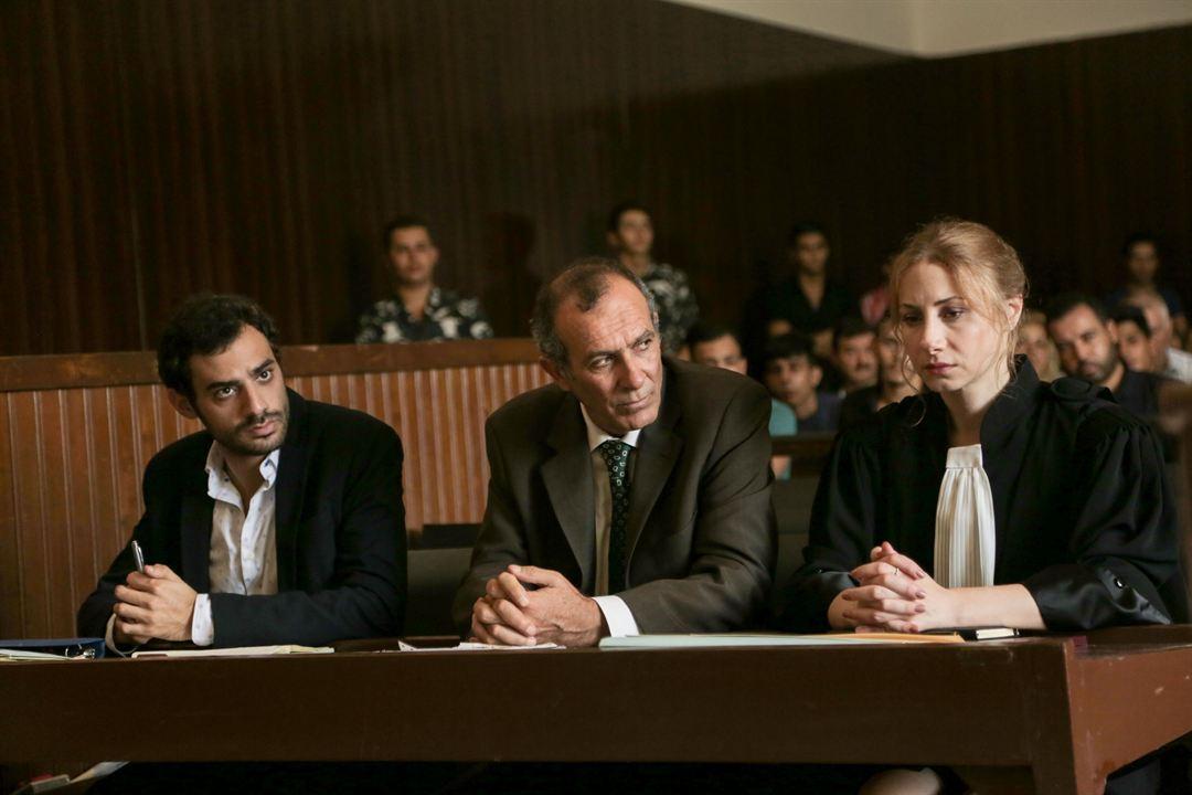 Der Affront : Bild Adel Karam, Diamand Abou Abboud, Kamel El Basha