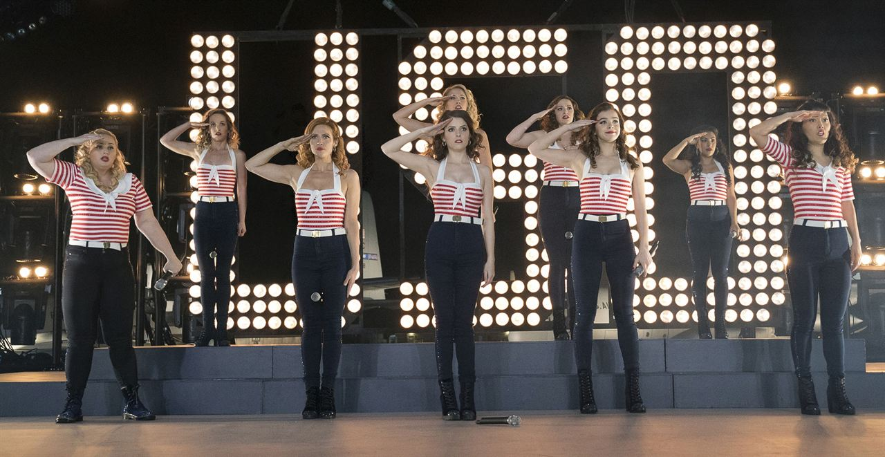 Pitch Perfect 3 : Bild Anna Camp, Anna Kendrick, Brittany Snow, Chrissie Fit, Hailee Steinfeld