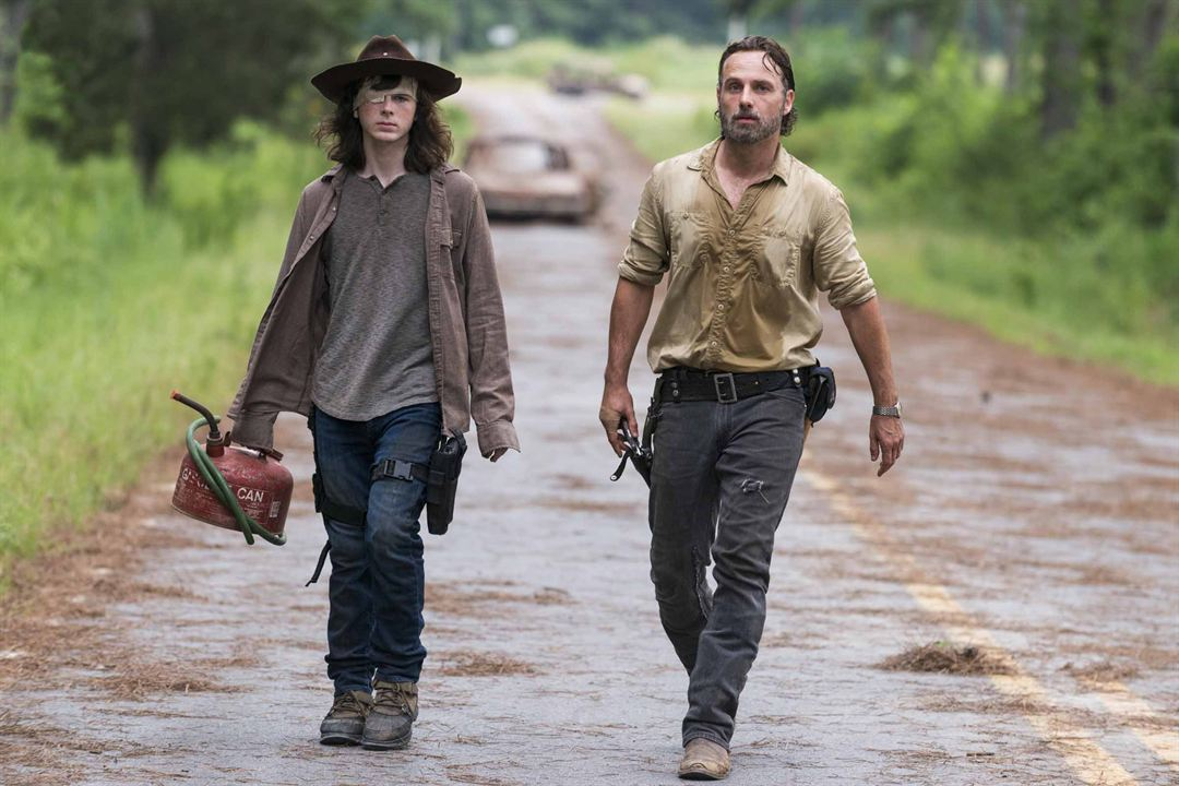 Bild Andrew Lincoln, Chandler Riggs