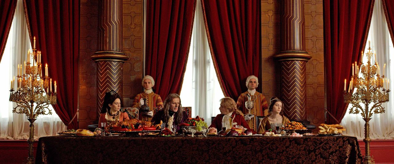 Ein königlicher Tausch : Bild Anamaria Vartolomei, Kacey Mottet Klein, Lambert Wilson, Maya Sansa