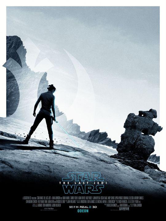 Star Wars 8: Die letzten Jedi : Kinoposter