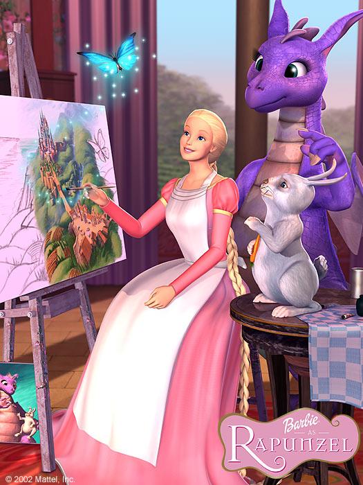 Bild Von Barbie As Rapunzel Bild 3 Auf 5 Filmstartsde