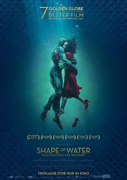 Shape Of Water - Das Flüstern des Wassers : Kinoposter