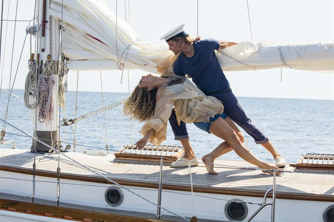 Mamma Mia 2: Here We Go Again : Bild Josh Dylan, Lily James