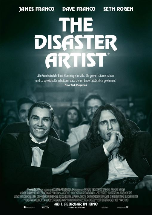 The Disaster Artist : Kinoposter