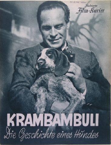 Krambambuli - Die Geschichte eines Hundes : Kinoposter