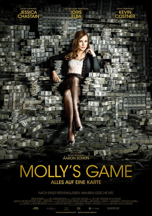 Molly's Game : Kinoposter