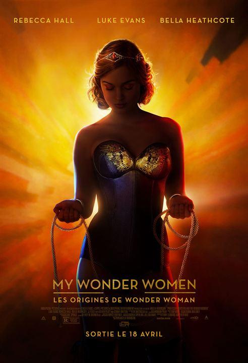 Professor Marston & The Wonder Women : Kinoposter