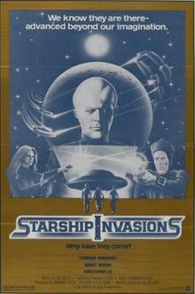Die Invasion der Raumschiffe : Kinoposter