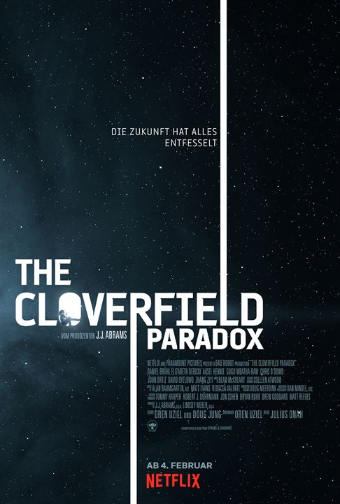 The Cloverfield Paradox : Kinoposter