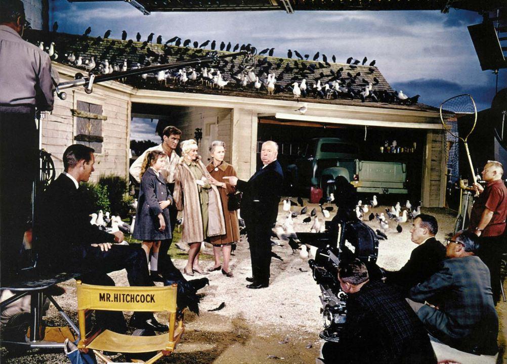 Die Vögel : Bild Alfred Hitchcock