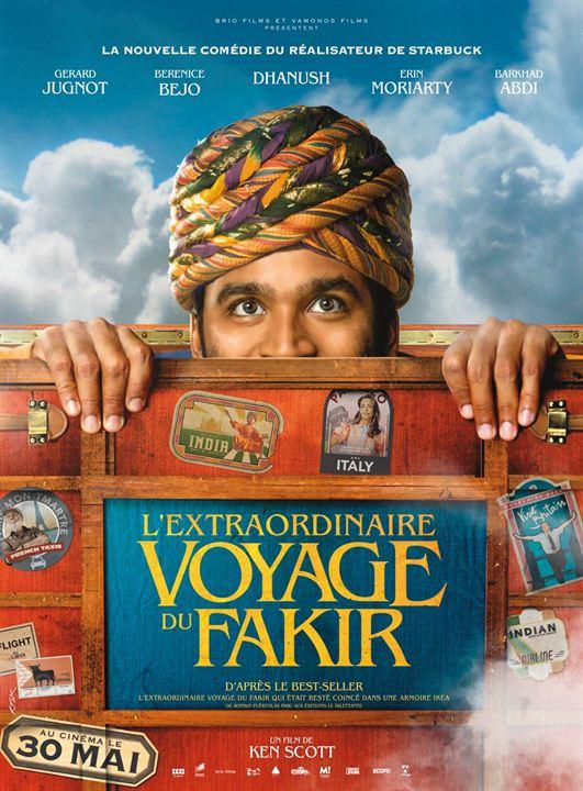 Die unglaubliche Reise des Fakirs, der in einem Kleiderschrank feststeckte : Kinoposter