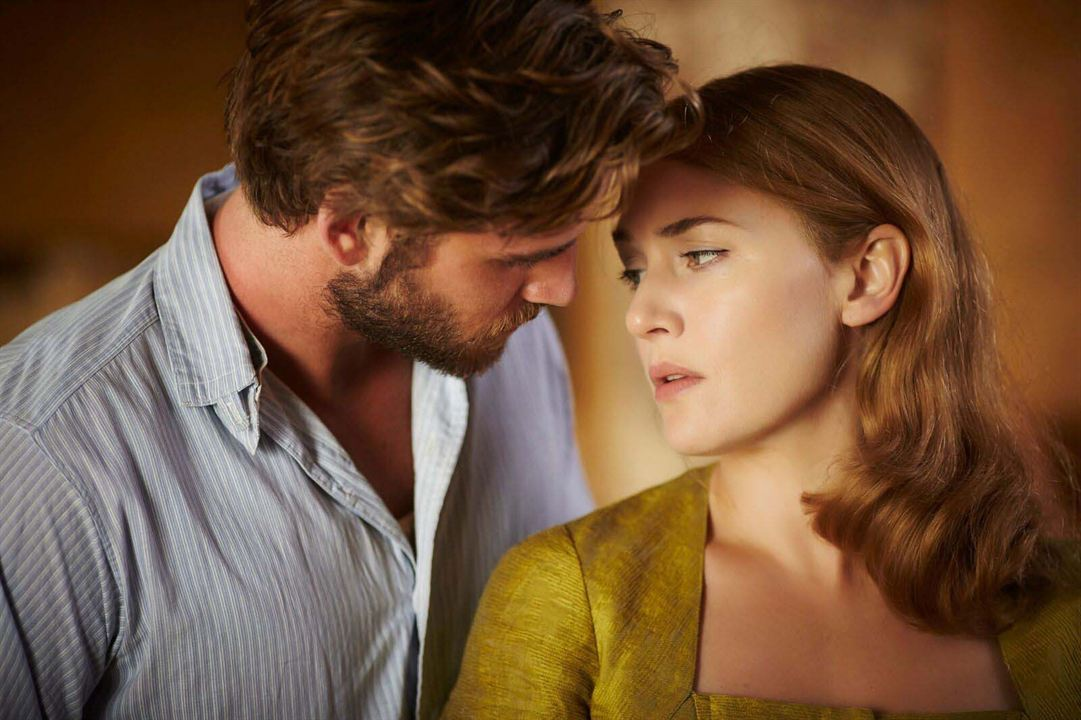The Dressmaker : Bild Kate Winslet, Liam Hemsworth