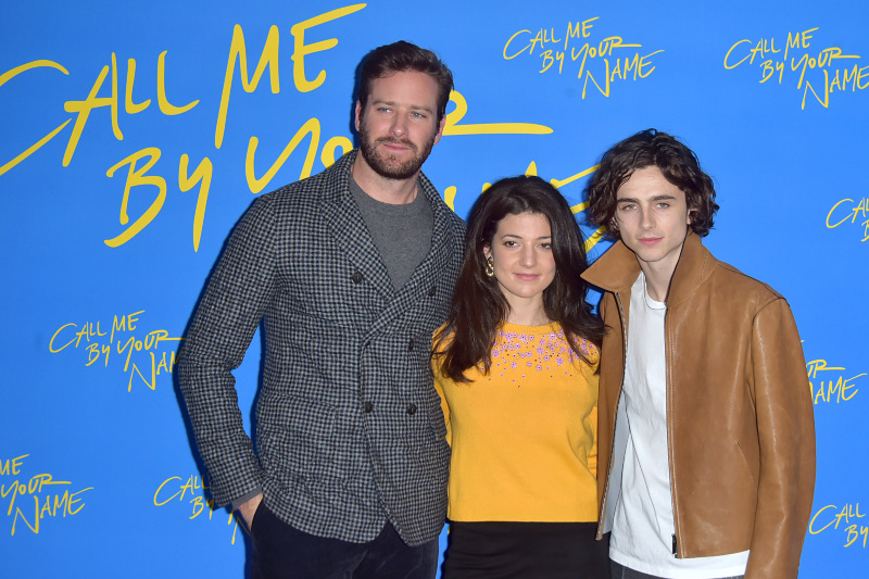 Call Me By Your Name : Vignette (magazine) Armie Hammer, Esther Garrel, Timothée Chalamet