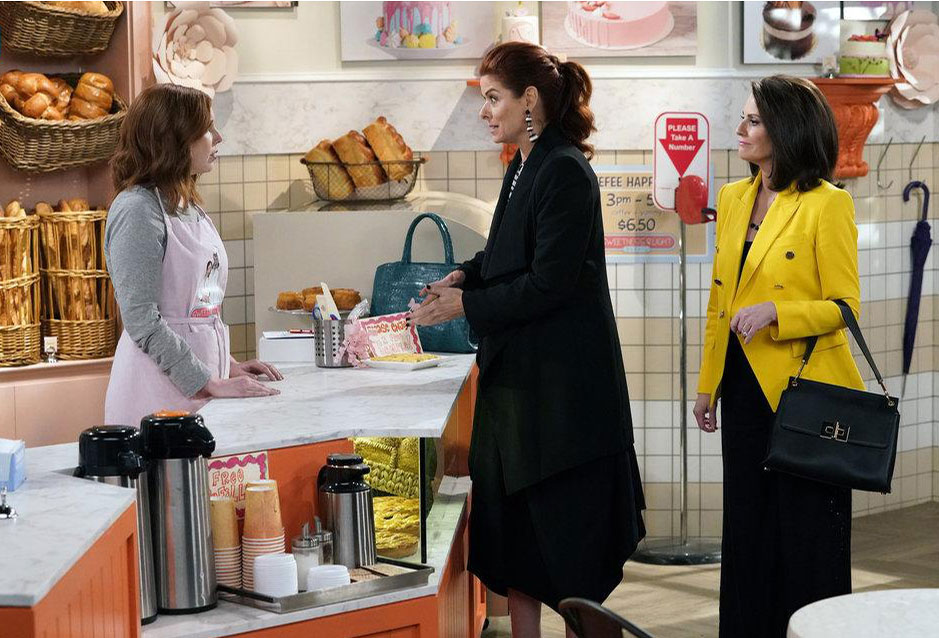 Bild Debra Messing, Megan Mullally, Vanessa Bayer