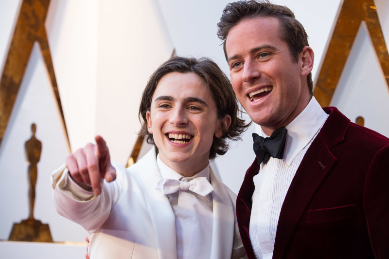 Call Me By Your Name : Vignette (magazine) Armie Hammer, Timothée Chalamet