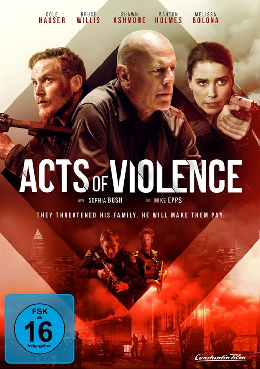 Acts Of Violence : Kinoposter