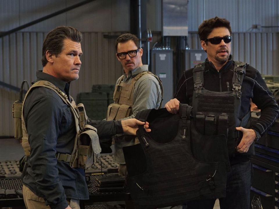 Sicario 2 : Bild Benicio Del Toro, Jeffrey Donovan, Josh Brolin