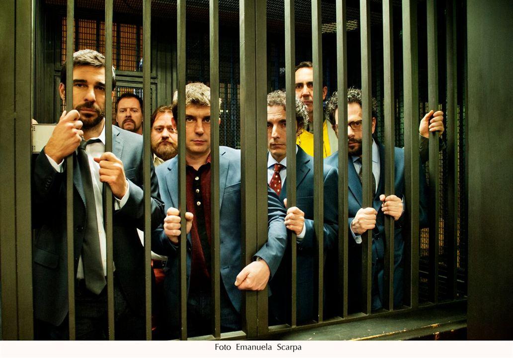 Morgen ist Schluss - Masterclass : Bild Edoardo Leo, Libero De Rienzo, Lorenzo Lavia, Paolo Calabresi, Pietro Sermonti
