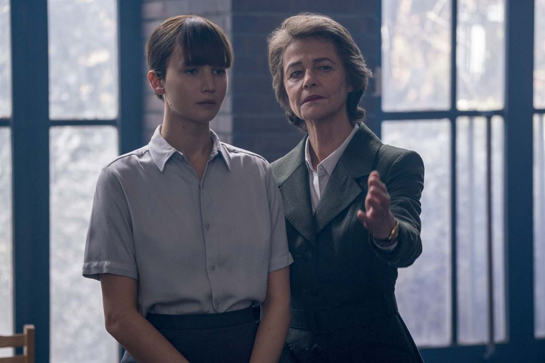Red Sparrow : Bild Charlotte Rampling, Jennifer Lawrence