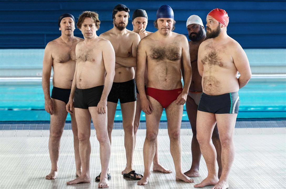 Ein Becken voller Männer : Bild Alban Ivanov, Balasingham Thamilchelvan, Benoît Poelvoorde, Guillaume Canet, Jean-Hugues Anglade