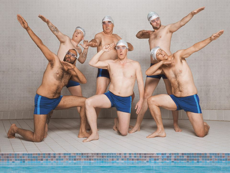 Swimming With Men : Bild Adeel Akhtar, Daniel Mays, Jim Carter, Rob Brydon, Rupert Graves
