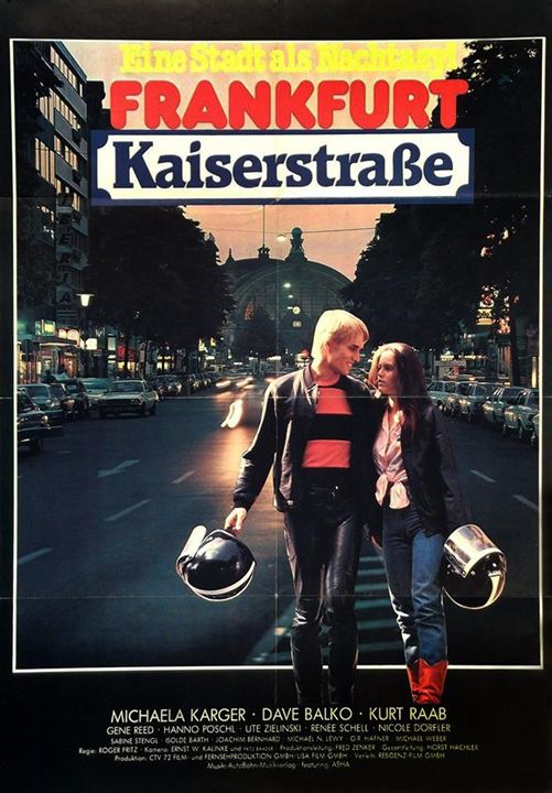 Frankfurt Kaiserstraße : Kinoposter
