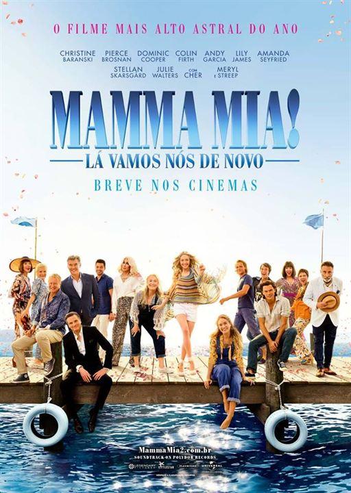 Mamma Mia 2: Here We Go Again : Kinoposter