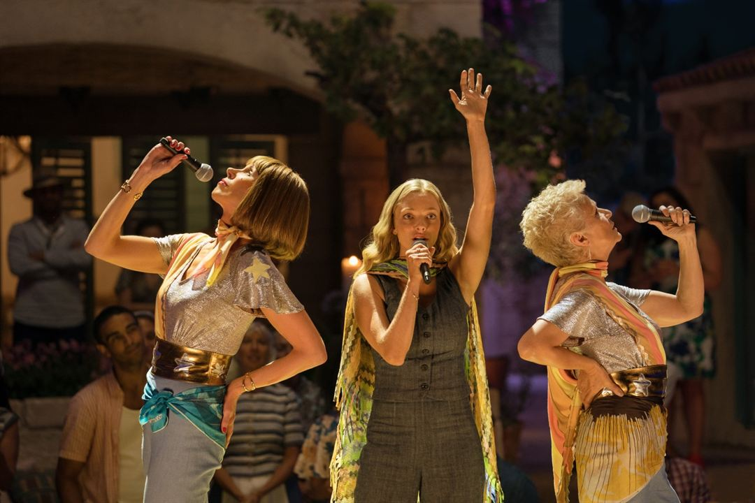 Mamma Mia 2: Here We Go Again : Bild Amanda Seyfried, Christine Baranski, Julie Walters