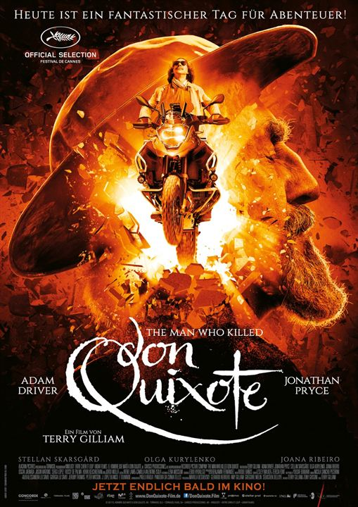 The Man Who Killed Don Quixote : Kinoposter