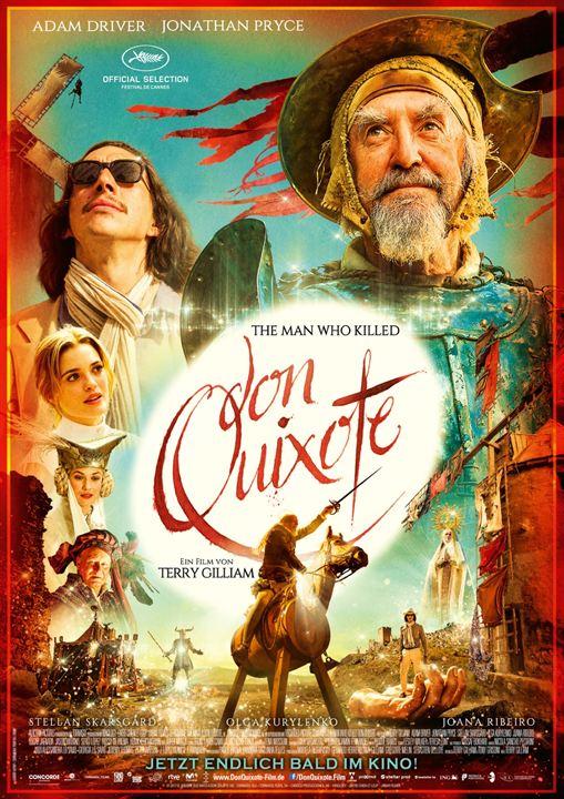 The Man Who Killed Don Quixote : Kinoposter