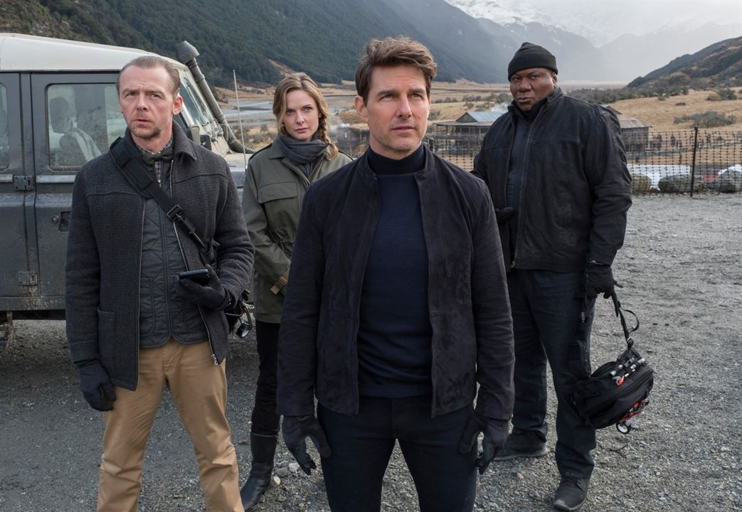 Mission: Impossible - Fallout : Bild Rebecca Ferguson, Simon Pegg, Tom Cruise, Ving Rhames