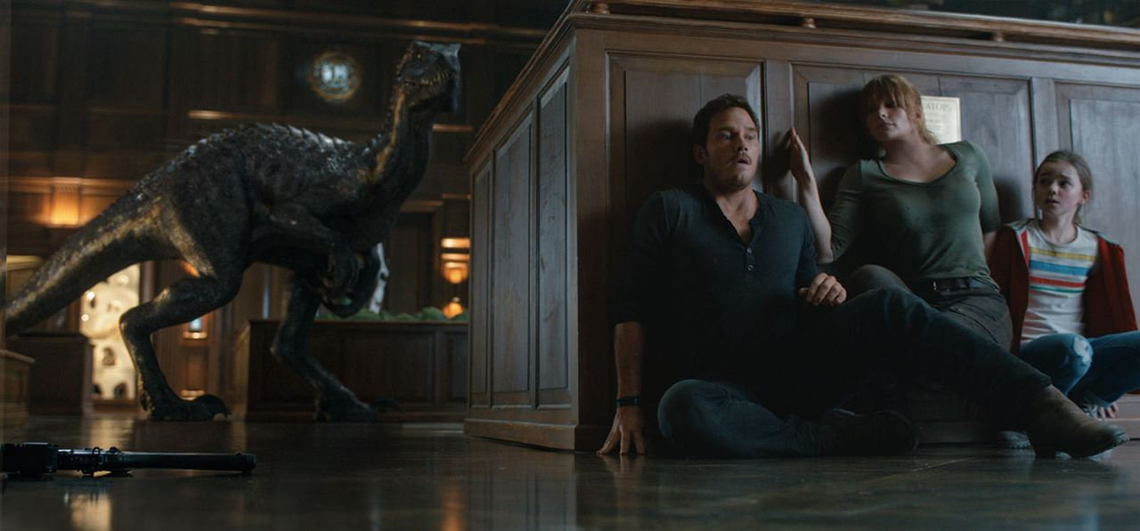 Jurassic World 2: Das gefallene Königreich : Bild Bryce Dallas Howard, Chris Pratt, Isabella Sermon