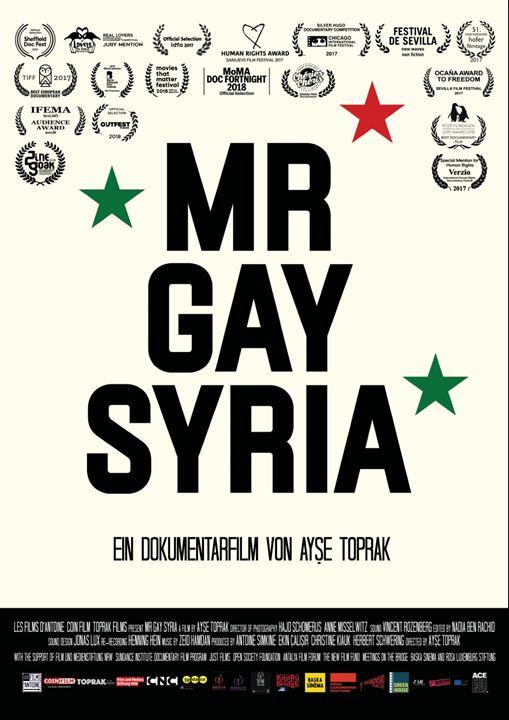 Mr. Gay Syria : Kinoposter