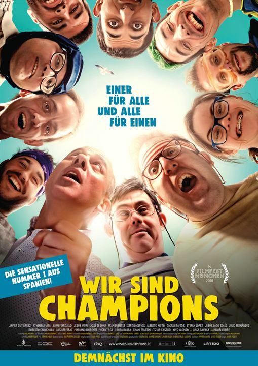 Wir sind Champions : Kinoposter