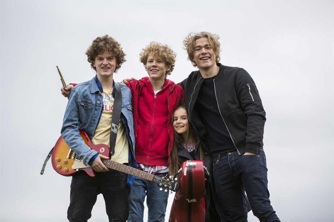 Thilda & die beste Band der Welt : Bild Jakob Dyrud, Jonas Hoff Oftebro, Tage Johansen Hogness, Tiril Marie Høistad Berger