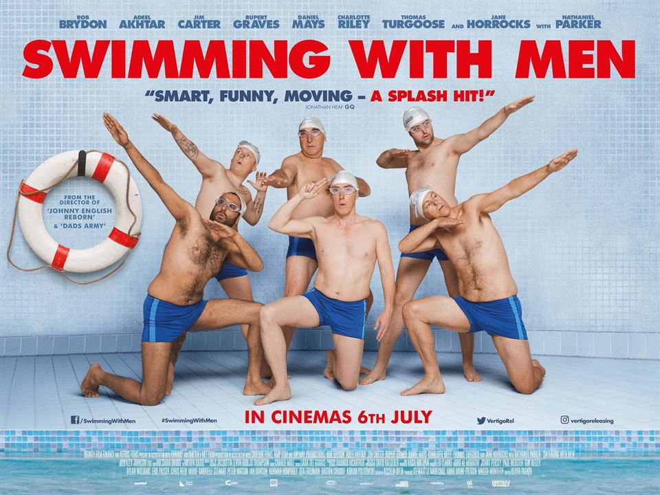 Swimming With Men : Kinoposter