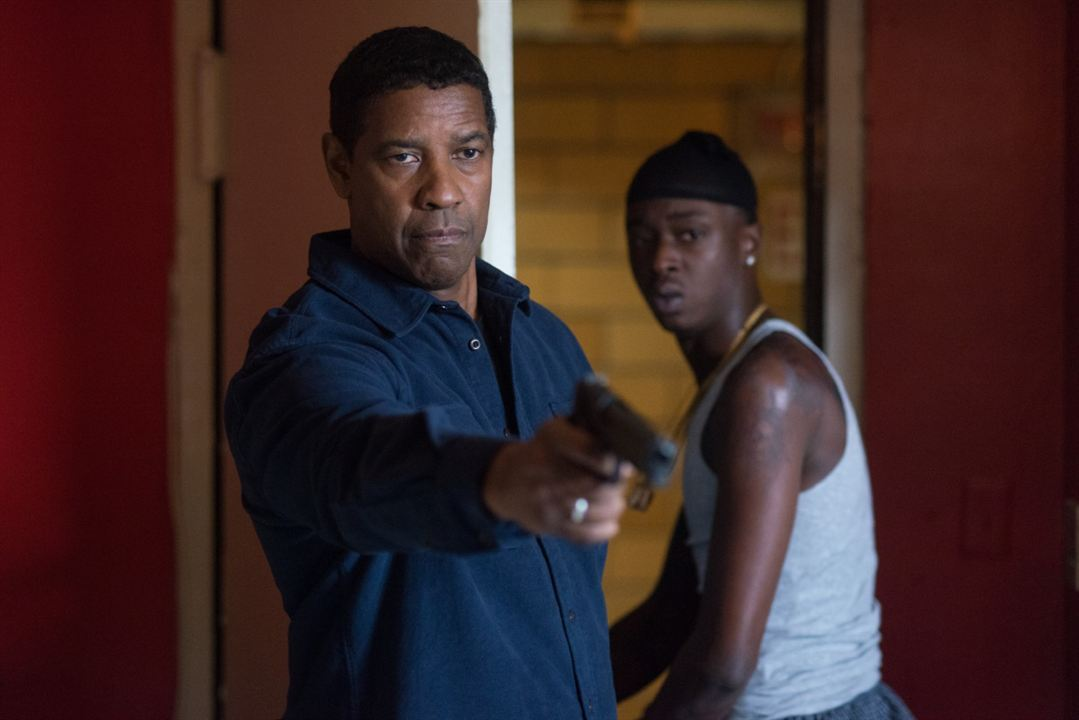 The Equalizer 2 : Bild Ashton Sanders, Denzel Washington