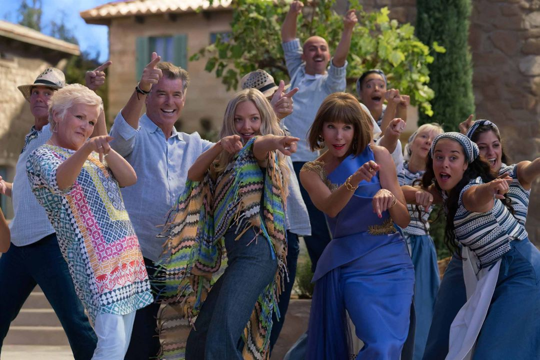 Mamma Mia 2: Here We Go Again : Bild Amanda Seyfried, Christine Baranski, Julie Walters, Pierce Brosnan