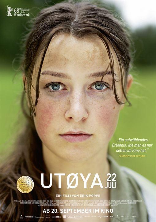 Utøya 22. Juli : Kinoposter