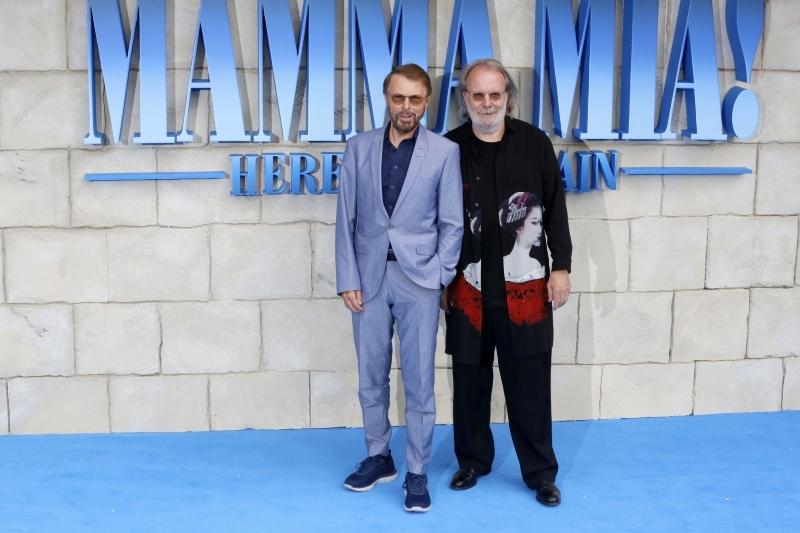 Mamma Mia 2: Here We Go Again : Vignette (magazine) Benny Andersson, Björn Ulvaeus