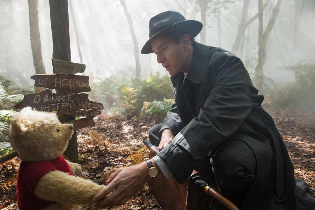 Christopher Robin : Bild Ewan McGregor