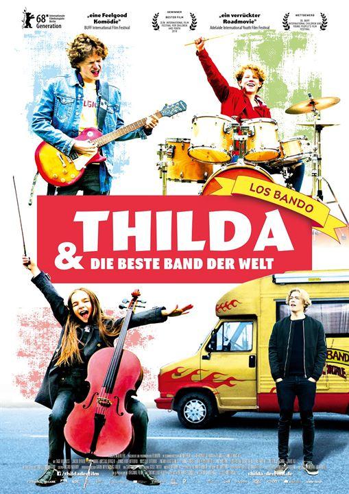 Thilda & die beste Band der Welt : Kinoposter