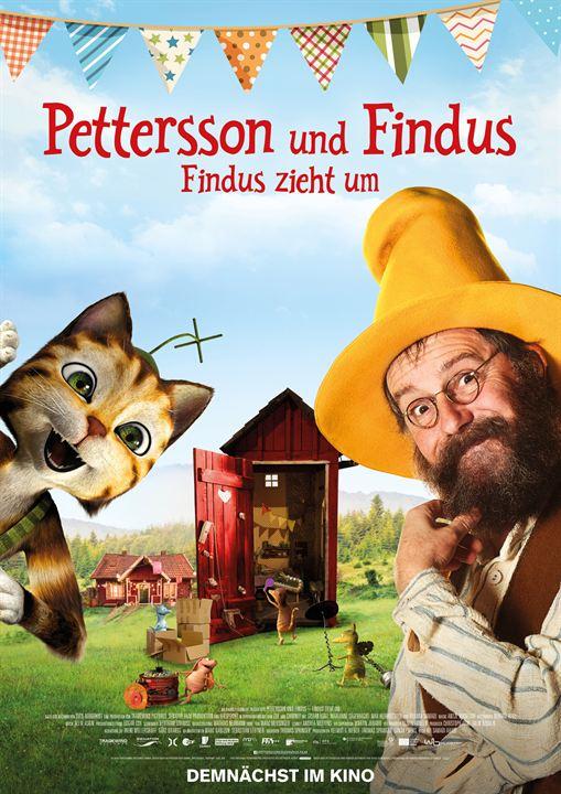 Pettersson und Findus - Findus zieht um : Kinoposter