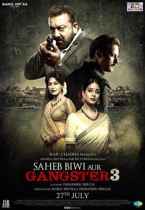 Saheb, Biwi Aur Gangster 3 : Kinoposter