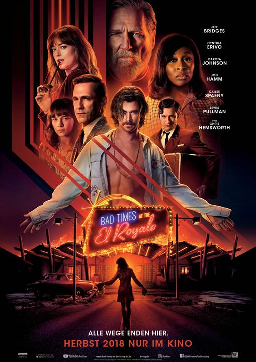 Bad Times At The El Royale : Kinoposter