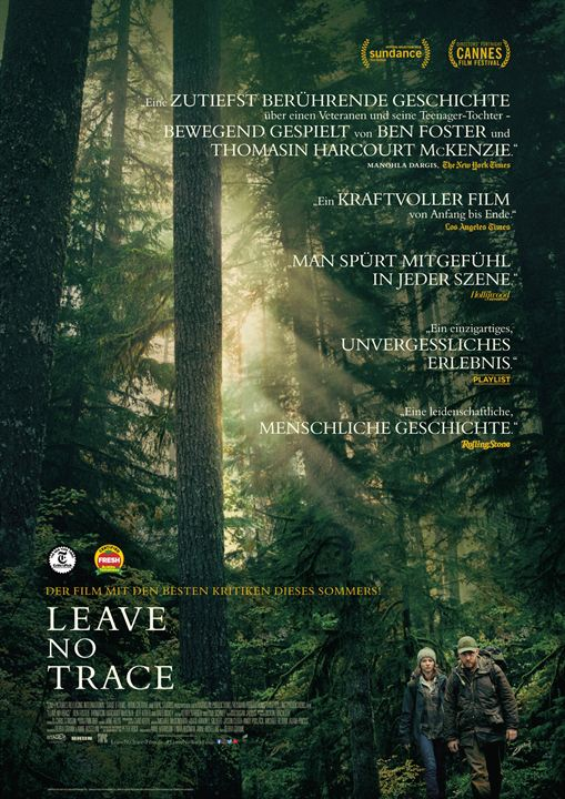 Leave No Trace : Kinoposter