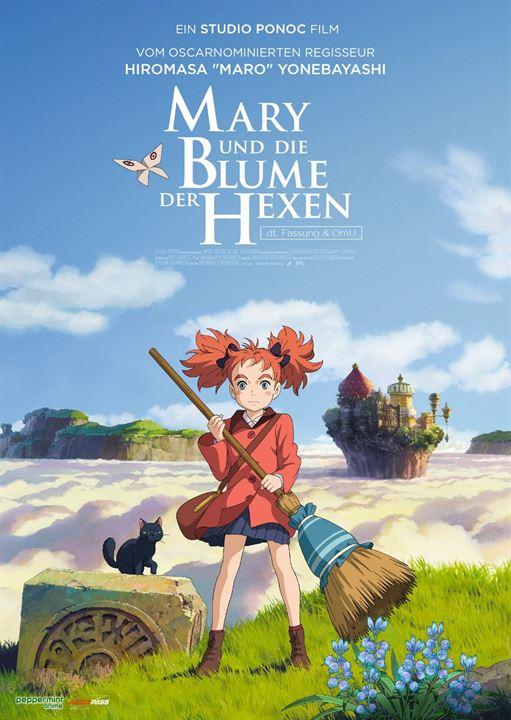 Mary und die Blume der Hexen : Kinoposter